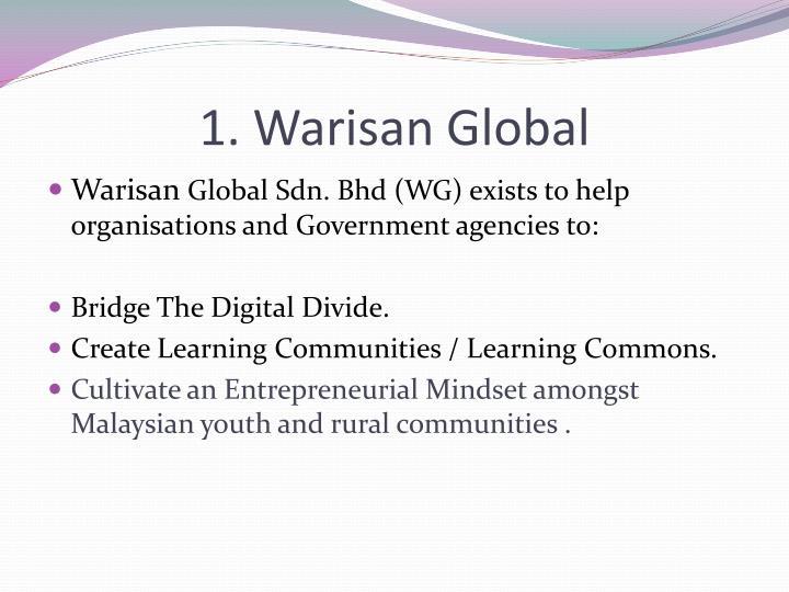 1. Warisan Global