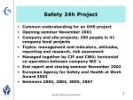 safety 24h project1