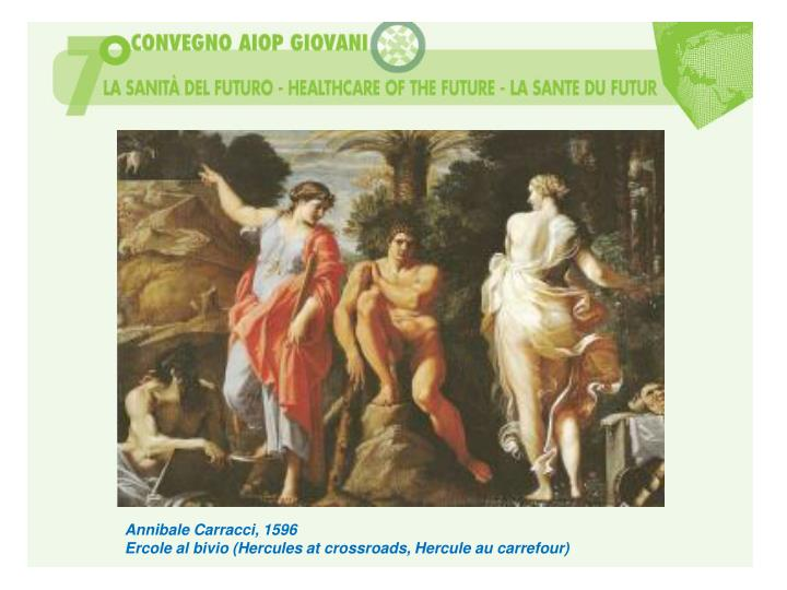 Annibale Carracci, 1596