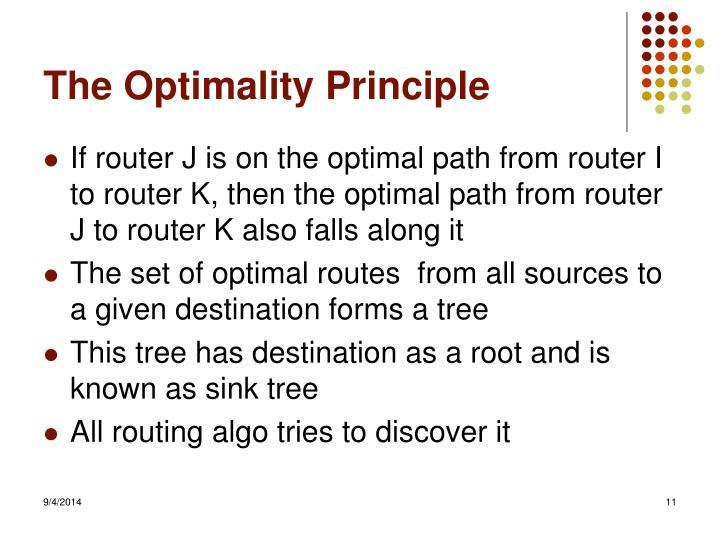The Optimality Principle