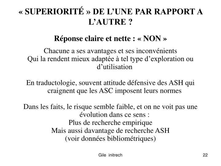 «SUPERIORIT