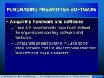 purchasing prewritten software12