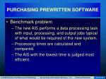 purchasing prewritten software31
