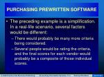purchasing prewritten software38