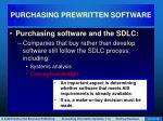 purchasing prewritten software6