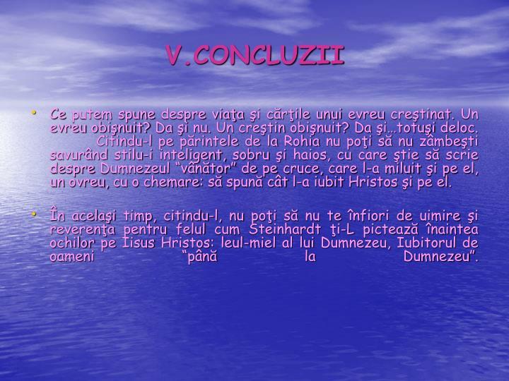 V.CONCLUZII