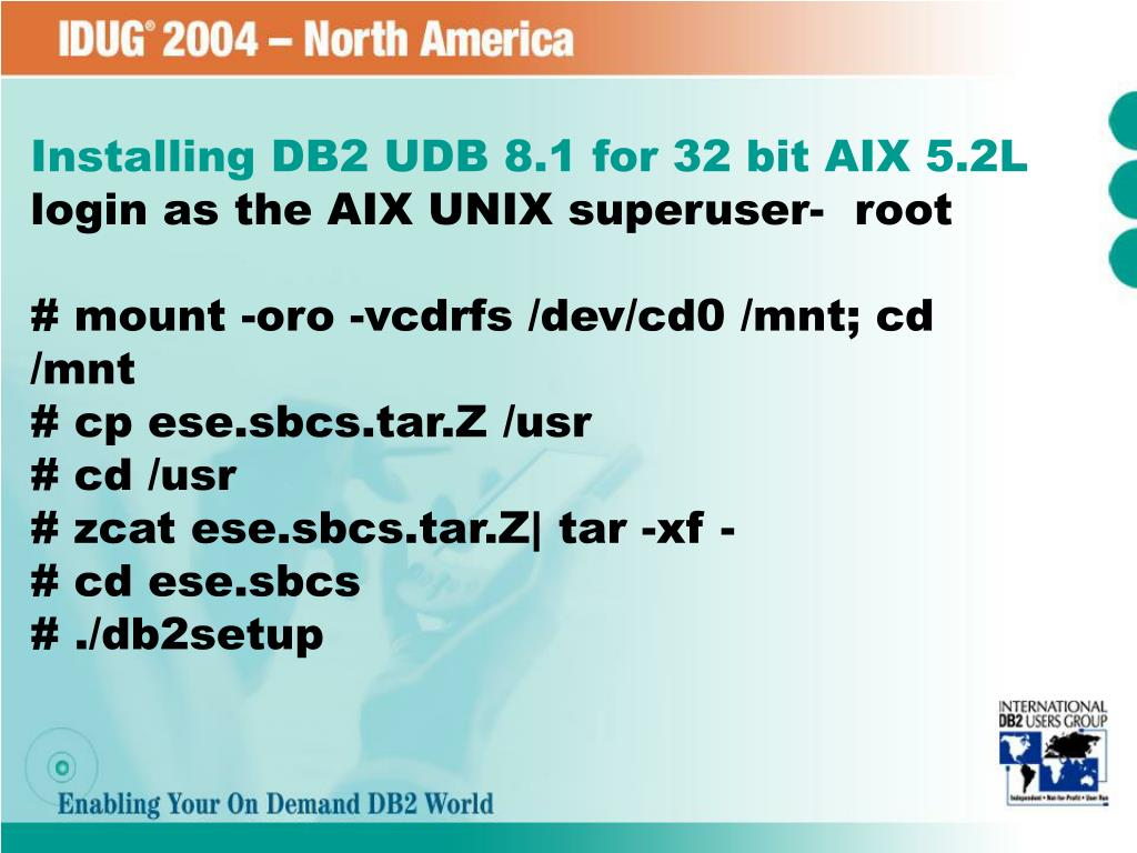 PPT - Upgrade your complex DB2 UDB Environment: Tips and
