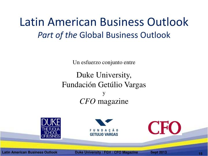 Latin American Business Outlook