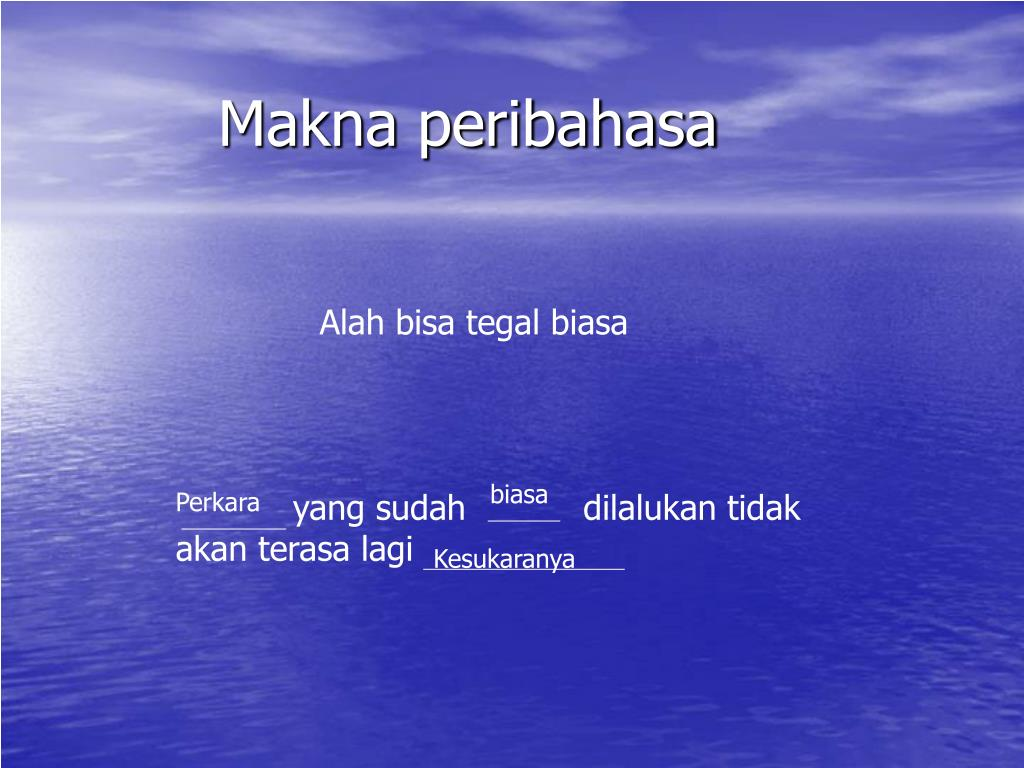Ppt Peribahasa Menengah 1 Powerpoint Presentation Free Download Id 3935834