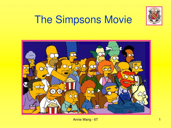 Ppt The Simpsons Movie Powerpoint Presentation Free Download Id 3935848