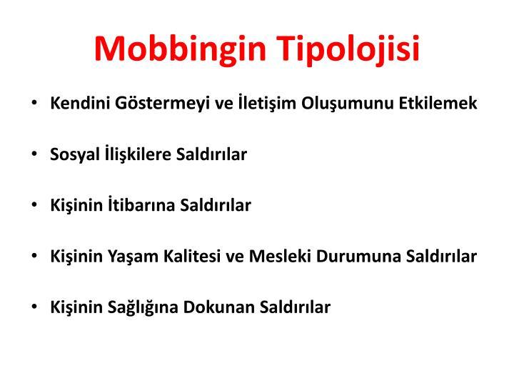 Mobbingin Tipolojisi
