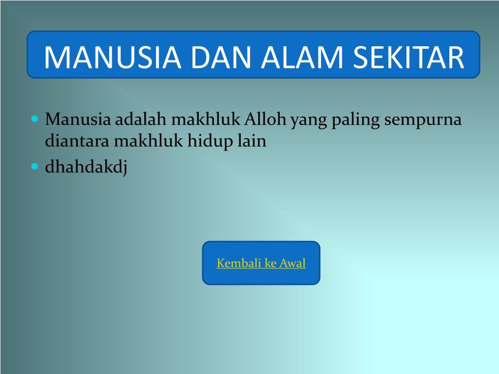 Ppt Manusia Dan Alam Sekitar Powerpoint Presentation Free Download Id 3936183