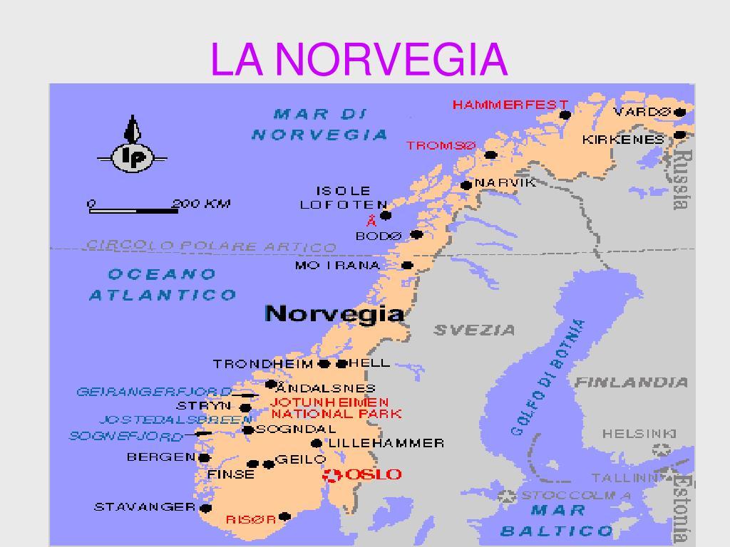 La Norvegia Cartina.Ppt La Norvegia Powerpoint Presentation Free Download Id 3936184