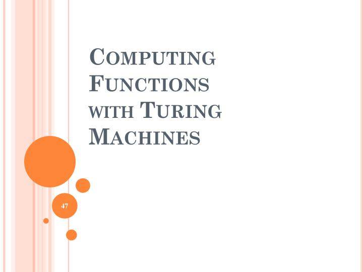 Computing Functions