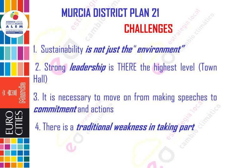 MURCIA DISTRICT PLAN 21