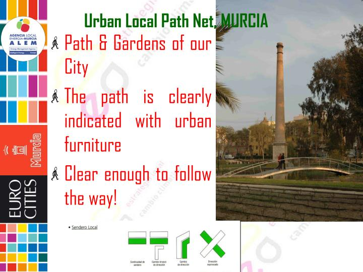Urban Local Path Net, MURCIA
