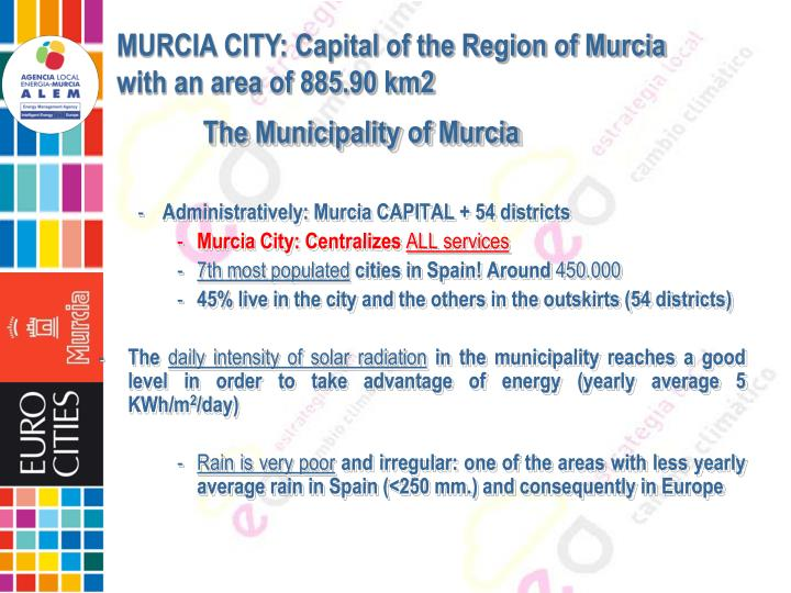 The Municipality of Murcia