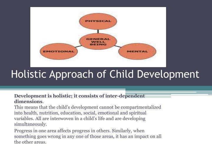 Holistic Approach of Child Development