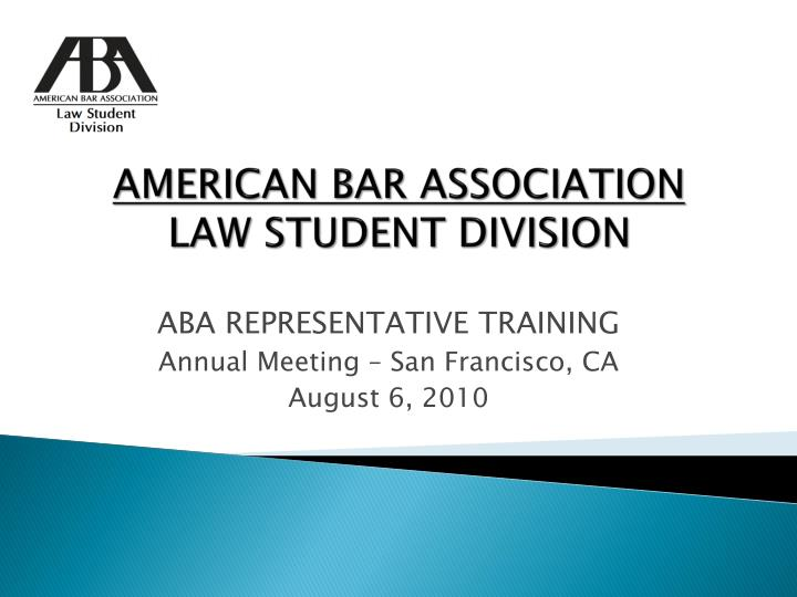 american bar association law student division n.