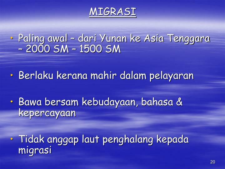 MIGRASI