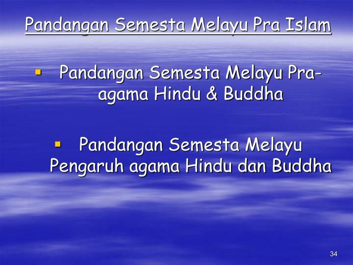 Pandangan Semesta Melayu Pra Islam