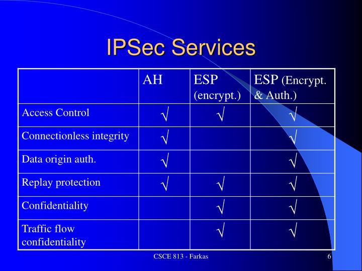 IPSec Services