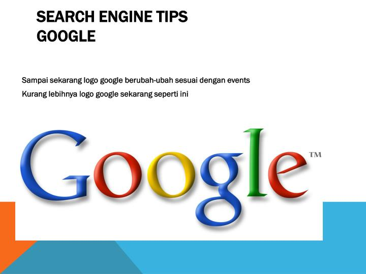 Search Engine Tips