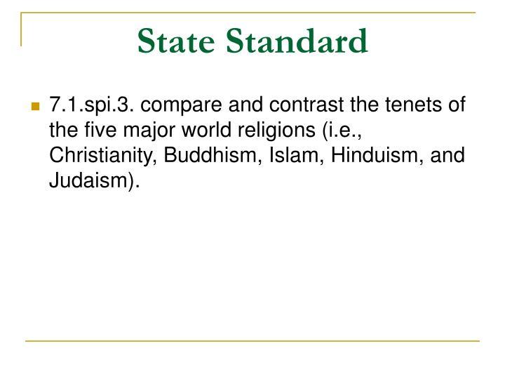 State standard