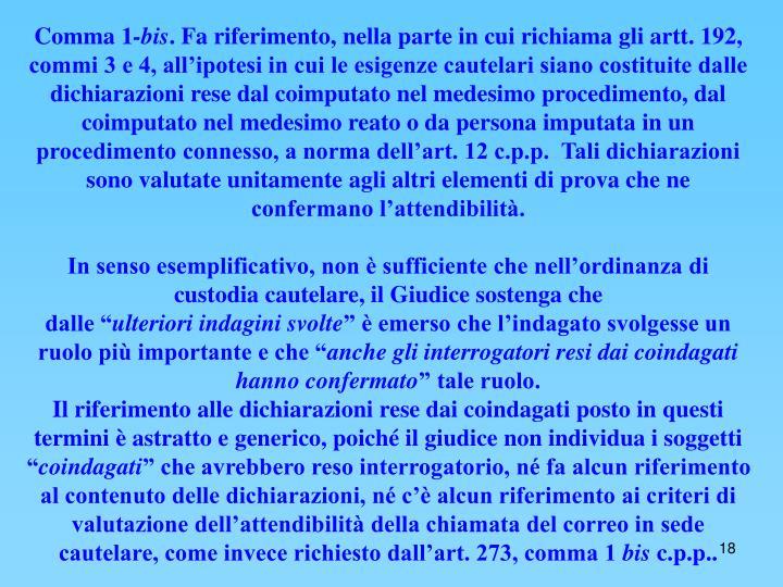 Comma 1