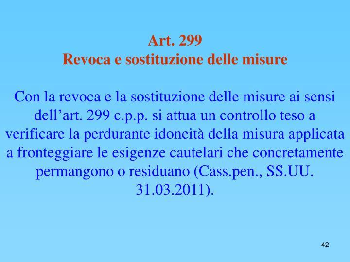 Art. 299