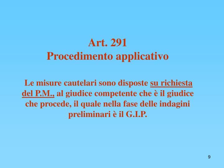 Art. 291