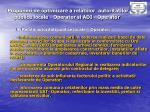 propuneri de optimizare a relatiilor autoritatilor publice locale o perator si adi o perator