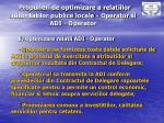 propuneri de optimizare a relatiilor autoritatilor publice locale o perator si adi o perator1