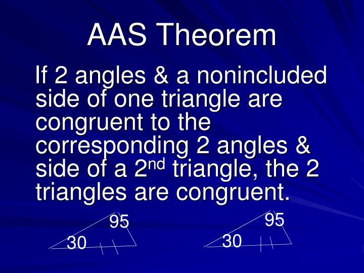 AAS Theorem