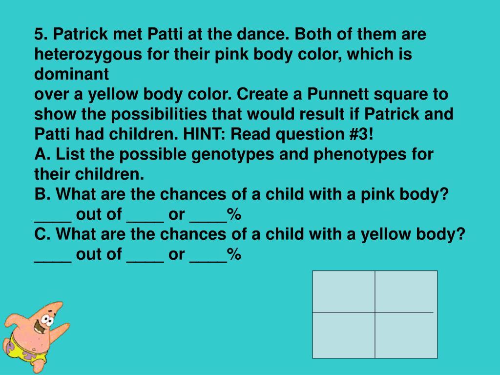 PPT - Spongebob Genetics PowerPoint Presentation, free ...