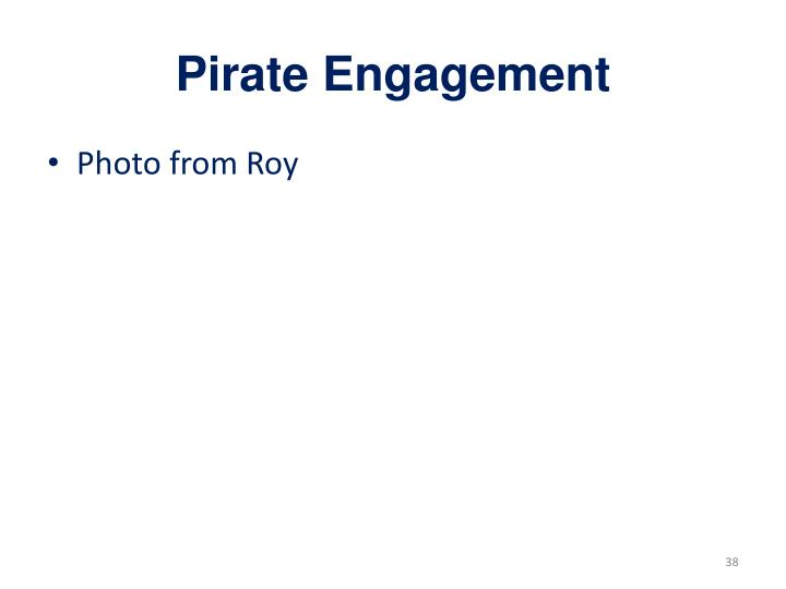 Pirate Engagement