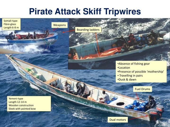 Pirate Attack Skiff Tripwires