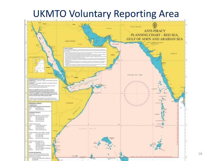 UKMTO Voluntary Reporting Area