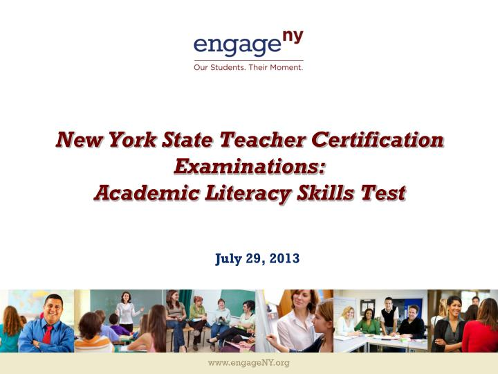 Ppt New York State Teacher Certification Examinations Academic