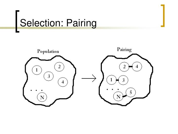 Selection: Pairing