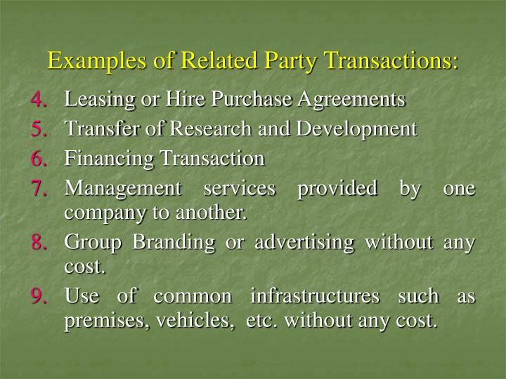 Ppt As 18 Related Party Disclosures Powerpoint Presentation Id