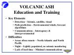 volcanic ash education and training2