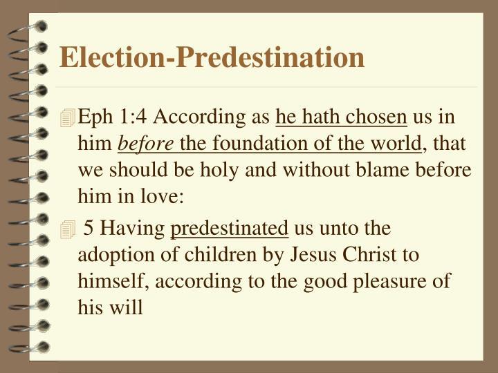 Election-Predestination