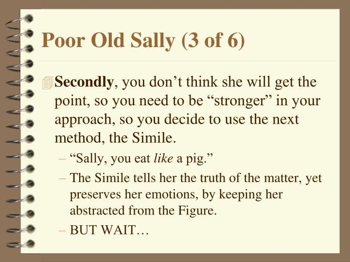 Poor Old Sally (3 of 6)