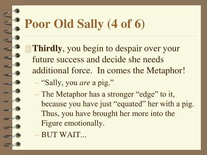 Poor Old Sally (4 of 6)