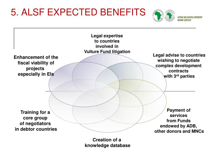 5. ALSF EXPECTED BENEFITS