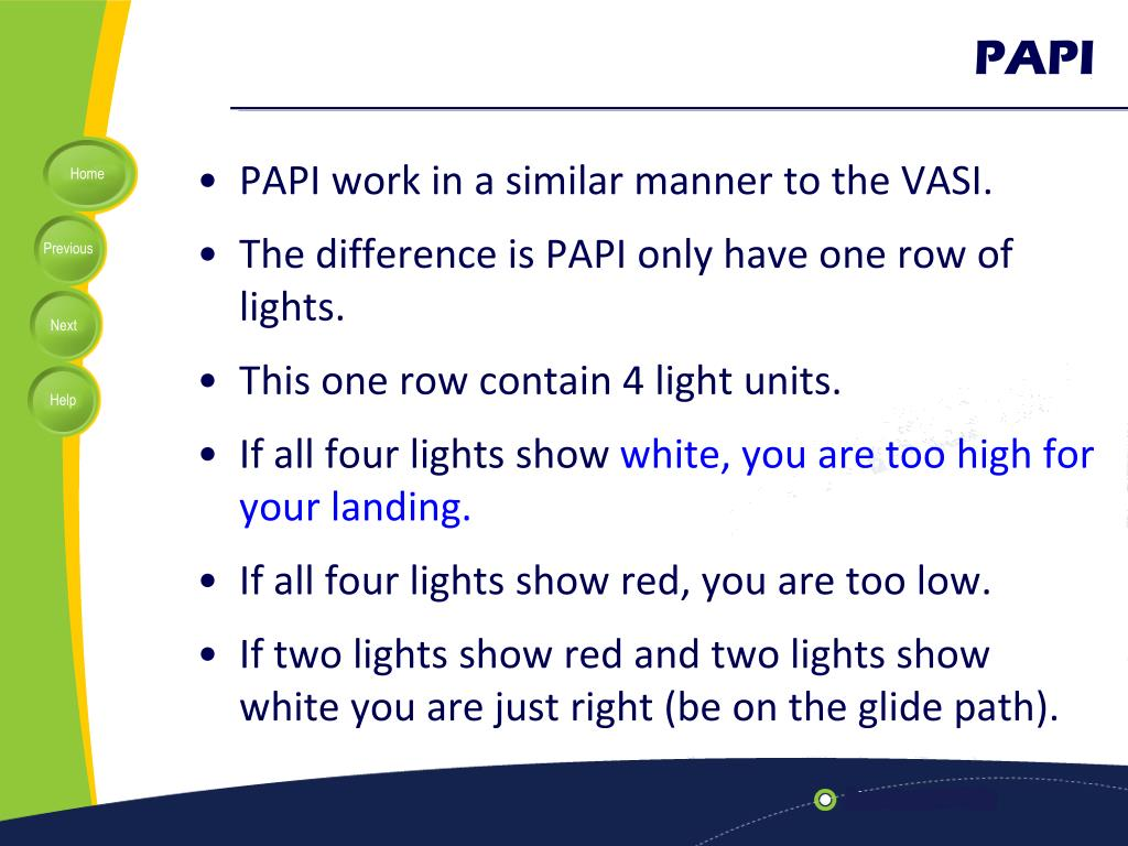 PPT - Lecture 12: A pproach L ighting S ystem (ALS) PowerPoint