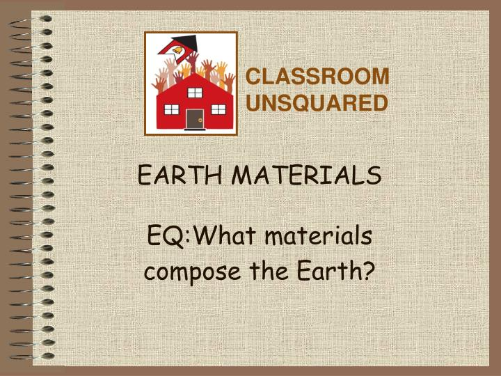 earth materials eq what materials compose the earth n.