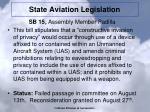 state aviation legislation1
