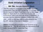 state aviation legislation2